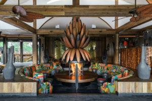 Xigera Lily Fireplace Main Lounge